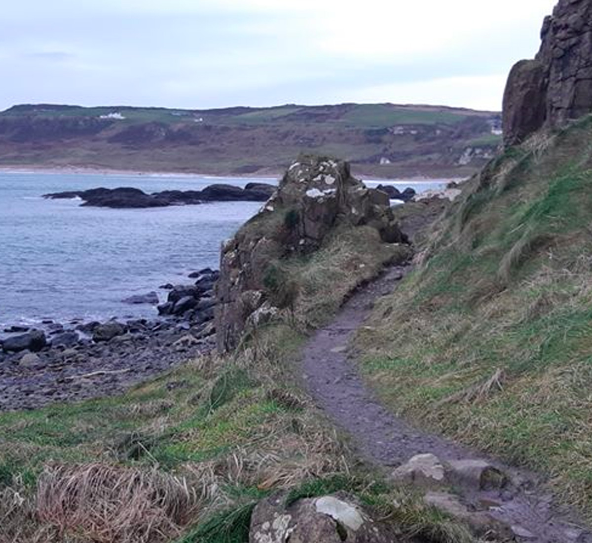 Snapshot Trek: Dunseverick to Port Braddan
