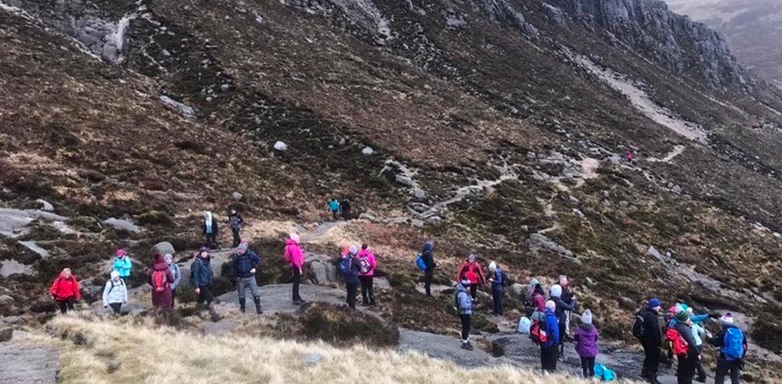 The power of social media and hiking: an invitation hike that spiralled